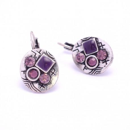 Dormeuse Strass BFDSC006-violette