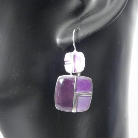 Dormeuse émaillée BFDEM001-violette