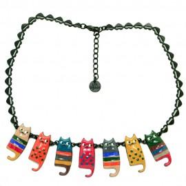 Collier LOL Bijoux LOLILOTA Les chats cats aristochats COLOL053-multi